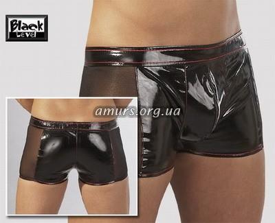 латексные мужские шорты порно