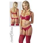 BH Set Valerie #1 red 85C/L - гладкий женский комплект.