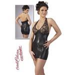 Zip Kleid black / XS - элегантное мини-платье.