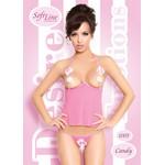 Игривый, розовый комплект «Candy»