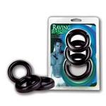 Набор эрекционных колец «Raving Bounders» 3шт