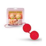 Красные вагинальные шарики «Jiggle»