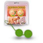 Черные вагинальные шарики «Jiggle»