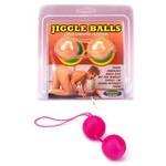 Вагинальные шарики Jiggle розовые