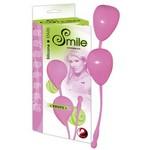 Вагинальные шарики «Smile» розовые