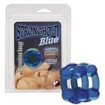 Кольцо Stronghold Penisring Blue