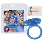 Виброкольцо Vibro Ring синее