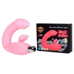 Стимулятор точки-G - Vibrator,  Silicone Material, Available color: Pink Purple, 4 LR44 Batteries