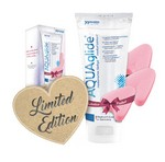 Лубрикант - AQUAglide Love Bundle (200ml +3 Soft Tampons)