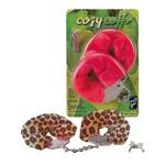 Леопардовые наручники «Cosy Cuffs»